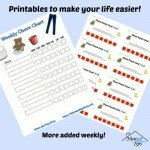 Printables to Make Your Life Easier!