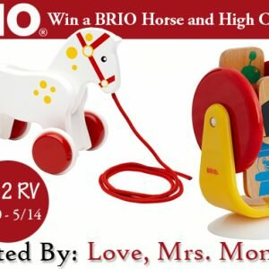 BRIO Toys Giveaway ends 05/14