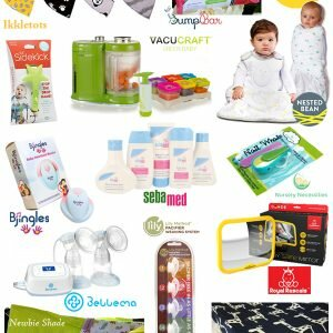 Here Comes Baby Giveaway ends 10/16