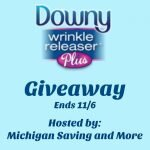Downy Wrinkle Releaser Plus Giveaway