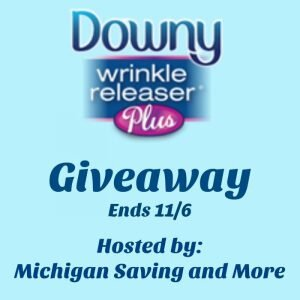 Downy Wrinkle Releaser Plus Giveaway ends 11/6 @las930 @DownyWRplus