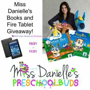 Miss Danielle's Books and Fire Tablet Giveaway ends 11-21
