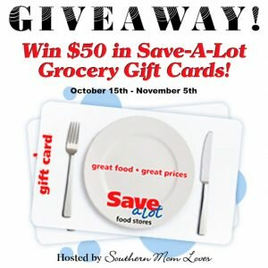 Save-A-Lot $50 Giveaway ends 11/5
