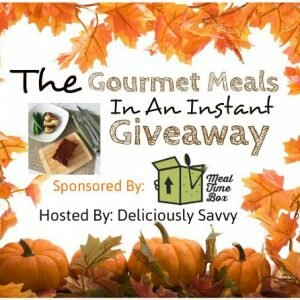 Gourmet Meals In An Instant Giveaway from Meal Time Box! 2 Winners ($100 TRV) Ends 11/25