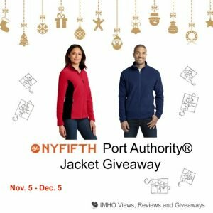 NYFIFTH Port Authority® Jacket Giveaway ends 12-5 #NYFIFTH