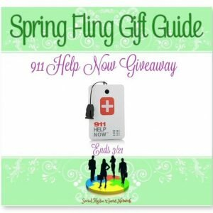 911 Help Now Giveaway Ends 3/21 @SMGurusNetwork