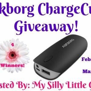 Askborg ChargeCube Giveaway http://www.hintsandtipsblog.com