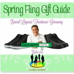 Emeril Lagasse Footwear Giveaway http://www.hintsandtipsblog.com