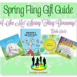 I See Me! Spring Fling Giveaway ends 3/31 @ISeeMe_Books @SMGurusNetwork @SilvieArmas
