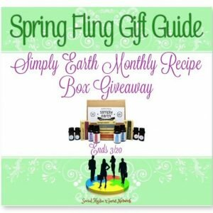 Simply Earth Monthly Recipe Box Giveaway Ends 3/20 #EORECIPEBOX @fromsimplyearth @SMGurusNetwork