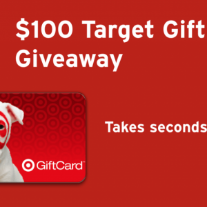 Dropprice $100 Target Gift Card Giveaway Ends 3/14 @las930 @DROP_PRICE