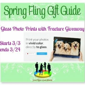 Spring Fling Gift Guide Glass Photo Prints with Fracture Giveaway ends 3/24 @SMGurusNetwork @tfasm