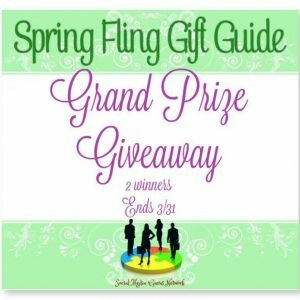 Spring Fling Grand Prize Giveaway http://www.hintsandtipsblog.com