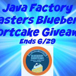 Java Factory Roasters Blueberry Shortcake Giveaway #2 http://www.hintsandtipsblog.com