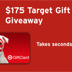 Dropprice $175 Target Gift Card Giveaway Ends 10/31 @las930 @DROP_PRICE