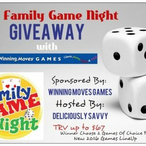 The Family Game Night Giveaway from Winning Moves Games ends 11/09