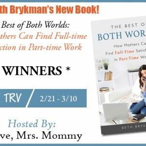 Beth Brykman's The Best of Both Worlds Book Giveaway http://www.hintsandtipsblog.com