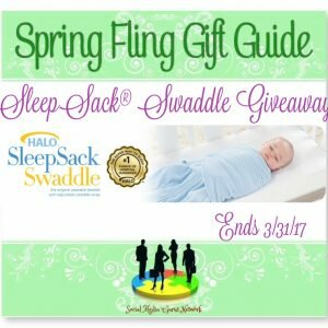 SleepSack Swaddle Giveaway ends 3/31 @HaloSleep @SMGurusNetwork @SilvieArmas