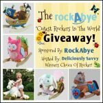 "The RockAbye ""Cutest Rockers In The World"" Giveaway http://www.hintsandtipsblog.com"