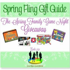 The Spring Fling Family Game Night Giveaway http://www.hintsandtipsblog.com