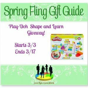 The Spring Fling Play-Doh Shape & Learn Giveaway! Ends 3/17 @SMGurusNetwork @playdoh