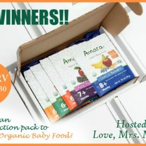 Amara Organic Baby Food Introduction Pack Giveaway http://www.hintsandtipsblog.com
