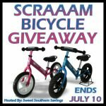 Summer's Here! SCRAAAM Balance Bike Giveaway http://www.hintsandtipsblog.com